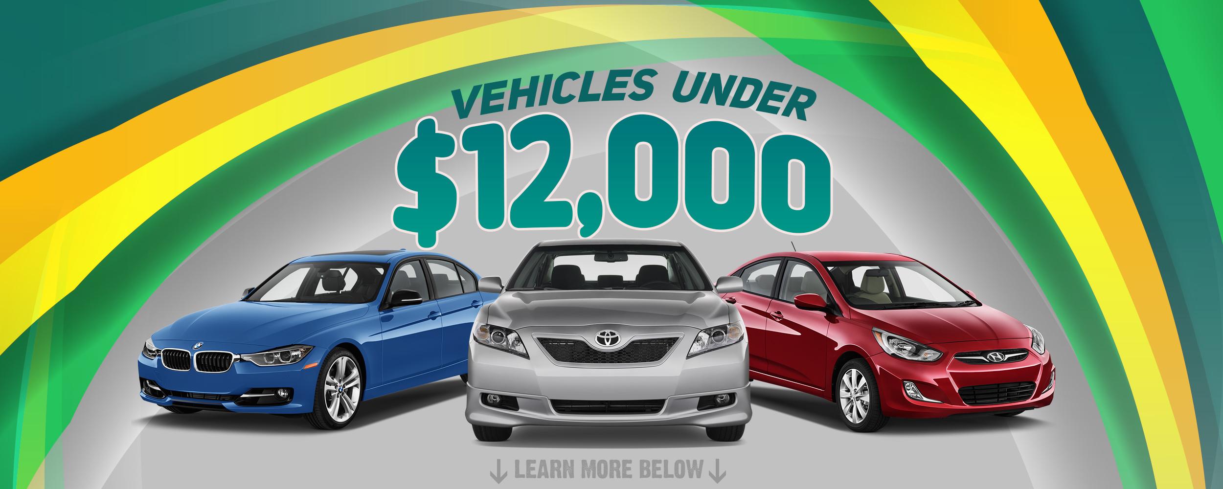 Vehicles Under 12 000 Jp Motors